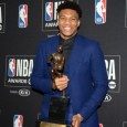 Giannis Antetokounmpo received 78 of the 101 possible first-place votes