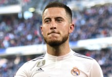 Eden Hazard returned after a three-month injury lay off