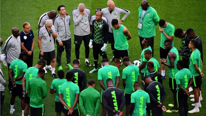 Super Eagles in training camp ahead of AFCON 2019