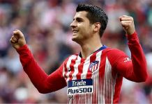 Alvaro Morata has scored two goals in two game for Atletico Madrid