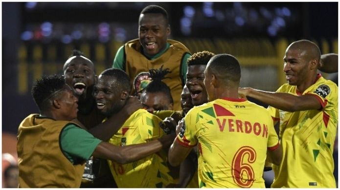 Benin beat Morocco to advance to last 8