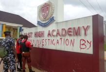 EFCC marks East High Academy owned by former Imo governor, Rochas Okorocha