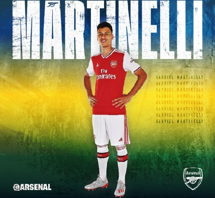 Gabriel Martinelli has joined Arsenal from Ituano