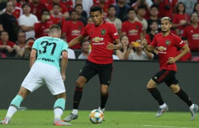 Mason Greenwood scored the winner as Manchester United beat Inter Milan 1-0 in Singapore