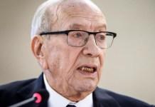 Tunisian President Beji Caid Essebsi, 92, has been hospitalised