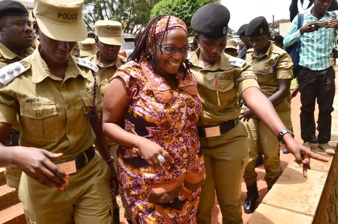 Uganda feminist jailed
