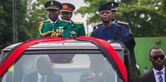 Vice President Yemi Osinbajo, SAN, represents President Muhammadu Buhari as the Special guest of honor at the annual Nigeria Army Day Celebration in Ikeja Cantonment, Lagos