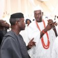 Vice President Yemi Osinbajo and Ooni of Ife