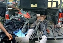 Body of the deceased kidnap kingpin Abacha