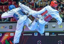Chinazum Nwosu has won Nigeria's first gold in taekwondo at the 12th African Games