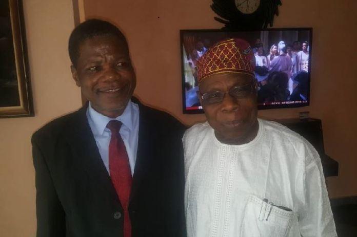Dr Joseph Onigbinde and Chief Olusegun Obasanjo