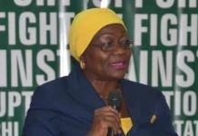 ICPC spokesperson, Mrs. Rasheedat A. Okoduwa