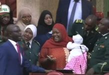 Speaker of Kenyan parliament ordered MP Zuleika Hassan to leave parliament