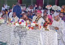 Vice President Yemi Osinbajo, Adams Oshiomhole and other APC leaders graced Chief John Odigie-Oyegun's 80th birthday