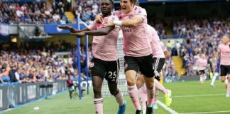 Wilfred Ndidi scored Leicester City's equaliser against Chelsea at Stamford Bridge