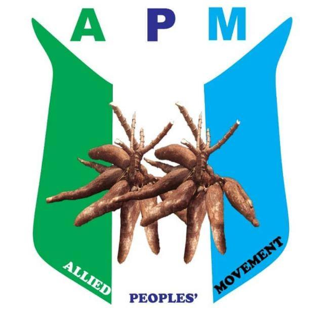 Allied Peoples' Movement, APM,