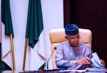 Vice President, Yemi Osinbajo says railway will boost Nigeria's economy