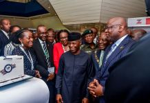 Vice President Yemi Osinbajo declares open the 2019 Annual Conference of the Chartered Institute of Bankers