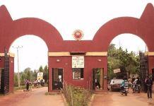 The facade of Auchi Polytechnic