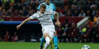 Toni Kroos scored the only goal as Real Madrid beat Galatasaray
