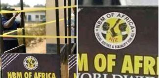 Aye Black Axe donates traffic shelter to police