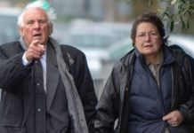 Barry and Hellynne Lee arriving at court on Friday