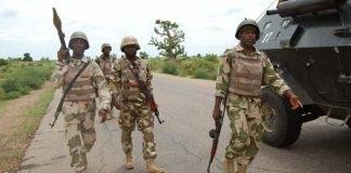 Nigerian troops have recovered ammunition and weaponry from ISWAP Kaduna-Jebba road