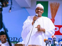 President Muhammadu Buhari recommended the dissolution of APC NWC