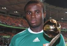 Sani Emmanuel won the Golden Ball for the best player at the 2009 Under-17 World Cup