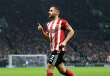 George Baldock's fortuitous strike salvaged a point for Sheffield United at Tottenham