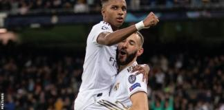 Rodrygo scored a late goal as Real Madrid beat Inter Milan