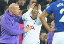 Son Heung-min was left in tears after his challenge resulted in Andre Gomes being injured