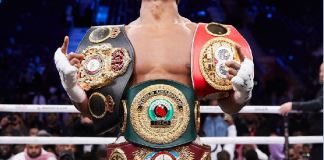 Anthony Joshua dreams of defending his heavyweight titles in Nigeria some day