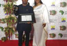 Emmanuel Eze wins ATAF award in Kampala, Uganda