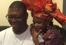 Gabriel Diya and his daughter Comfort died at a resort on the Costa del Sol