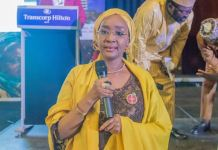 Nigeria Minister of Humanitarian Affairs, Disaster Management & Social Development, Sadiya Umar Farouq N-power School Feeding
