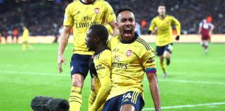 Arsenal's Pierre-Emerick Aubameyang has now scored 11 Premier League goals this season and 13 in all competitions