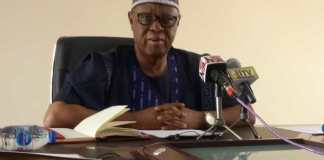 The Registrar, Nigeria Institute of Animal Science, Prof. Eustace Iyayi