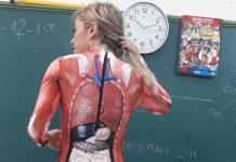 The teacher of 15 years uses other creative ideas to engage kids