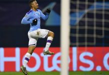 Gabriel Jesus' last 14 goals for Manchester City have all come away from the Etihad