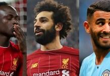 Mane Salah and Mahrez battle for Africa's best footballer award