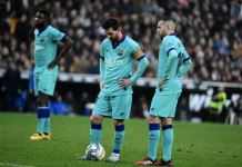 Barcelona lost their fourth La Liga game of the season