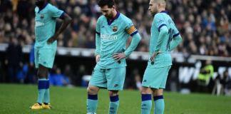 Barcelona lost their fourth La Liga game of the season