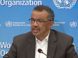 Dr Tedros Adhanom Ghebreyesus, DG World Health Organization (WHO) has suspended the use of chloroquine polio