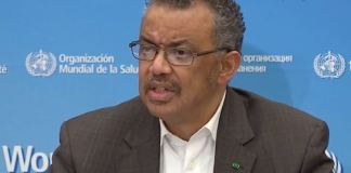 Dr Tedros Adhanom Ghebreyesus, DG World Health Organization (WHO)