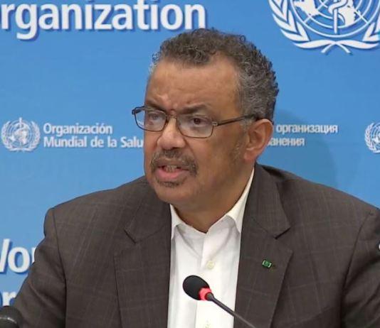 Dr Tedros Adhanom Ghebreyesus, DG World Health Organization (WHO) has suspended the use of chloroquine polio
