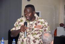 Major General Olusegun Adeniyi, Theatre Commander, Operation Lafiya Dole