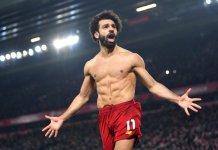 Mohamed Salah helped Liverpool to win their 20th game this season in the league