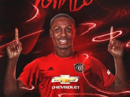 Odion Ighalo joined Manchester United on a six month loan deal