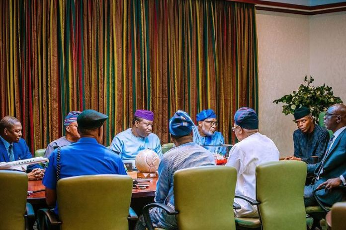 Vice President Yemi Osinbajo mediated between the Southwest governors, Attorney General of the Federation and Inspector General of Police over Amotekun